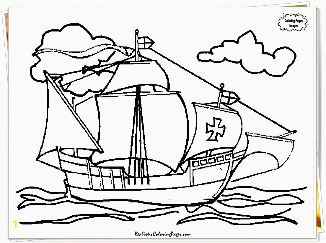 Christopher Columbus Coloring Page Inspirational Unlimited Christopher Columbus Ships Coloring Pages the Santa