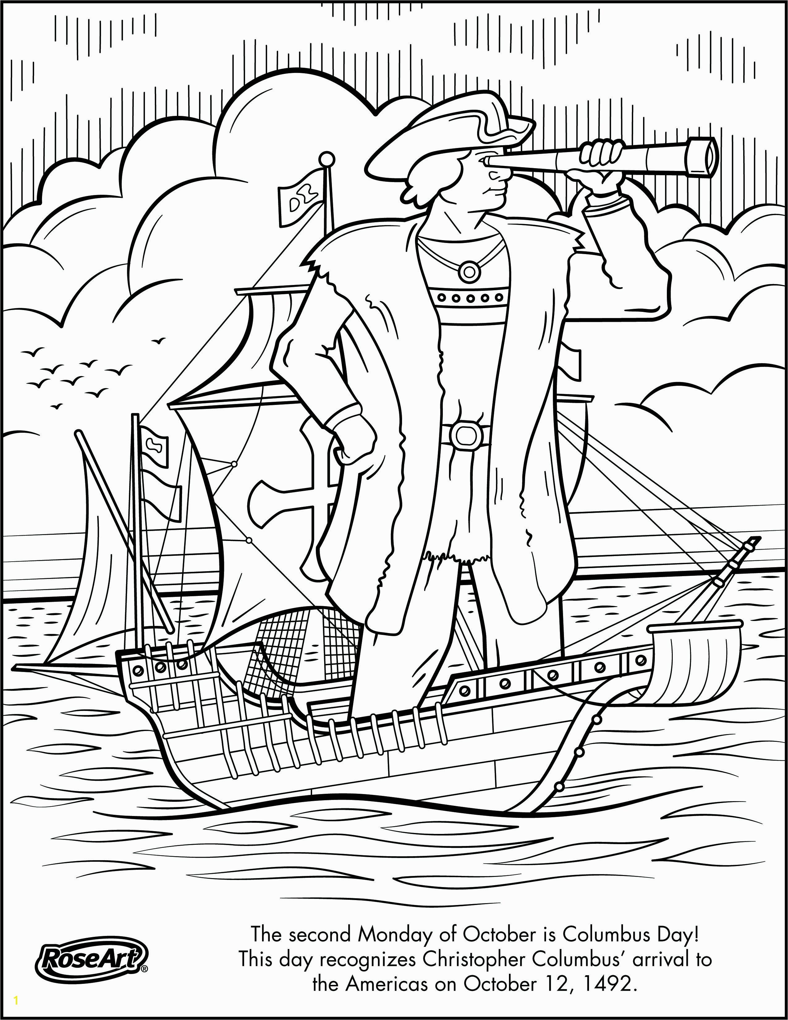 Christopher Columbus Three Ships Coloring Pages Christopher Columbus Coloring Pages Nina Pinta and Santa Maria