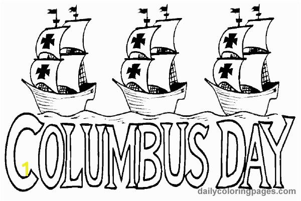 columbus day printables for kids