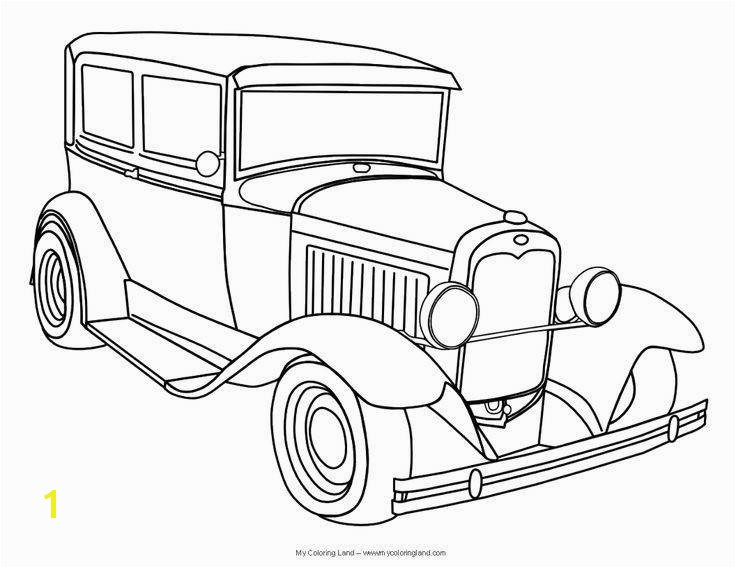 Cars Coloring Pages Elegant Car Coloring Pages for Boys Print – Gwall Concept Classic Car