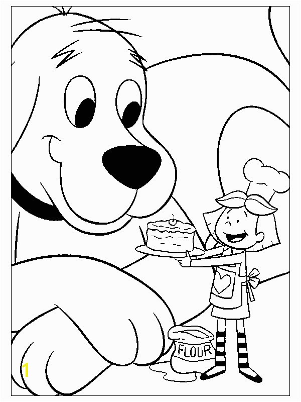 Clifford Thanksgiving Coloring Pages Fresh Unique Design Clifford Coloring Pages Clifford Coloring Pages for