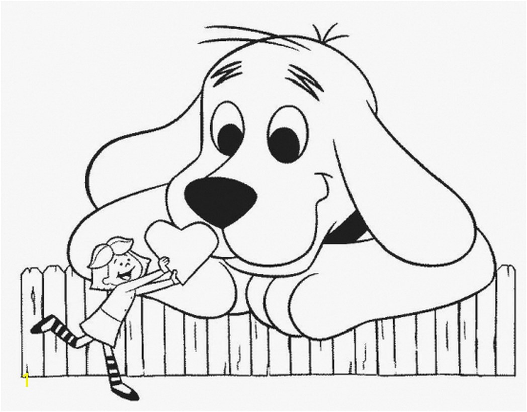 Clifford Thanksgiving Coloring Pages Awesome Agreeable Clifford Coloring Page Coloring to Humorous Print Clifford Clifford