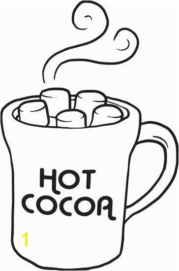 Mug Coloring Page Printable Awesome Hot Chocolate Coloring Page Winter Coloring Pages Girl Drinking Hot