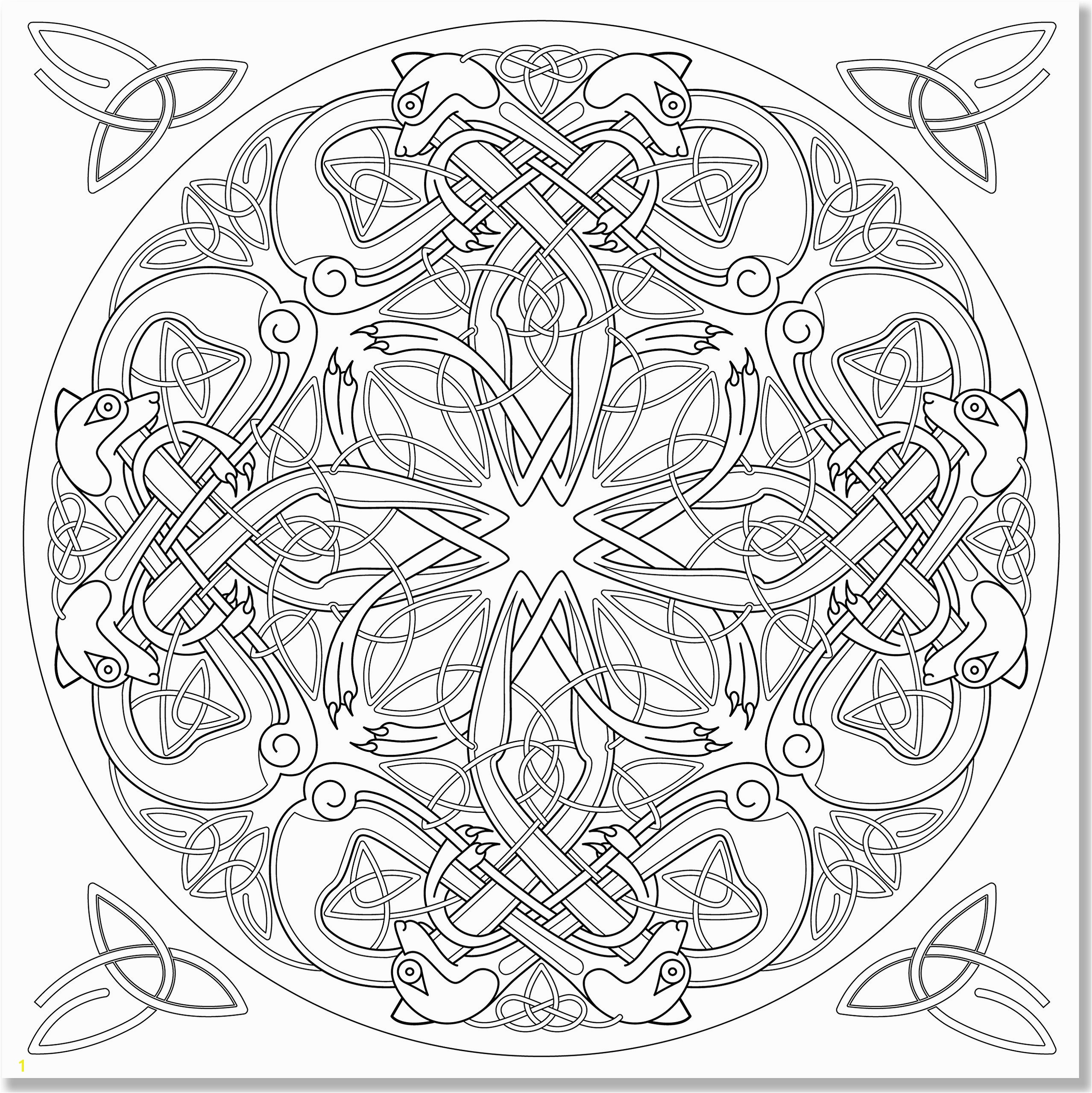Coloring Books for Grown Ups Celtic Mandala Coloring Pages 35 Best Mandala Coloring Pages