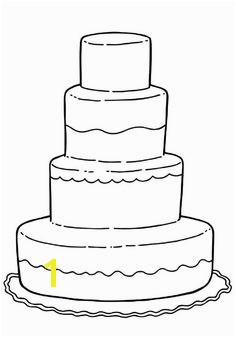 A Very Big Birthday Cake And Creative Coloring For Kids Coloring Pages Pinterest