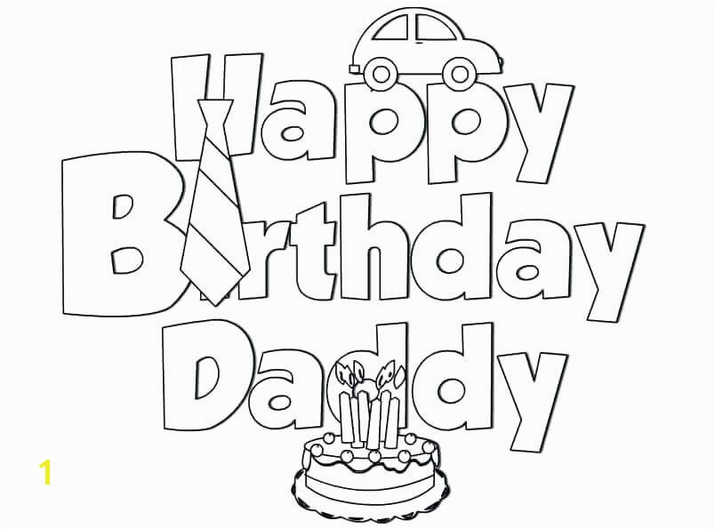 Coloring Page Of A Birthday Cake Birthday Coloring Pages Coloring Free Happy Birthday Coloring Pages