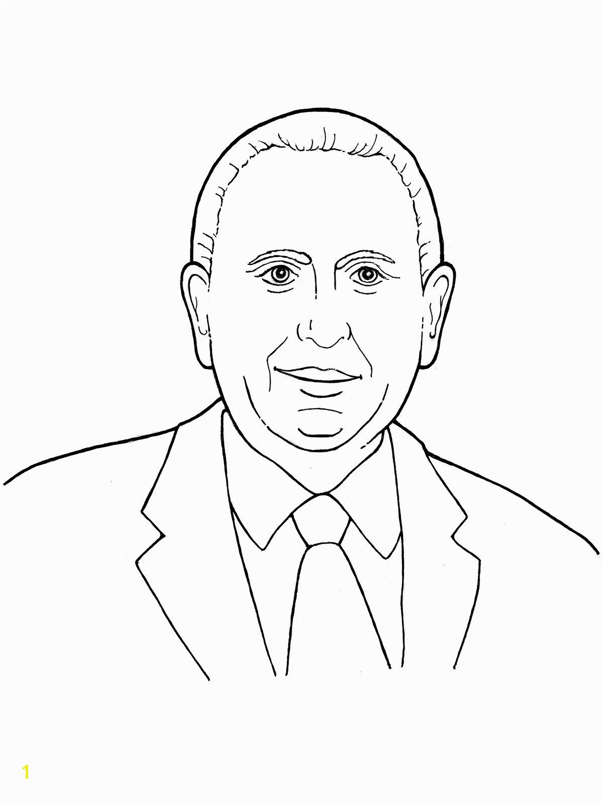 Coloring Page Of Thomas S Monson An Illustration Of Our Latter Day Prophet Thomas S Monson