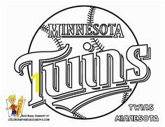 Twins Logo Color Book