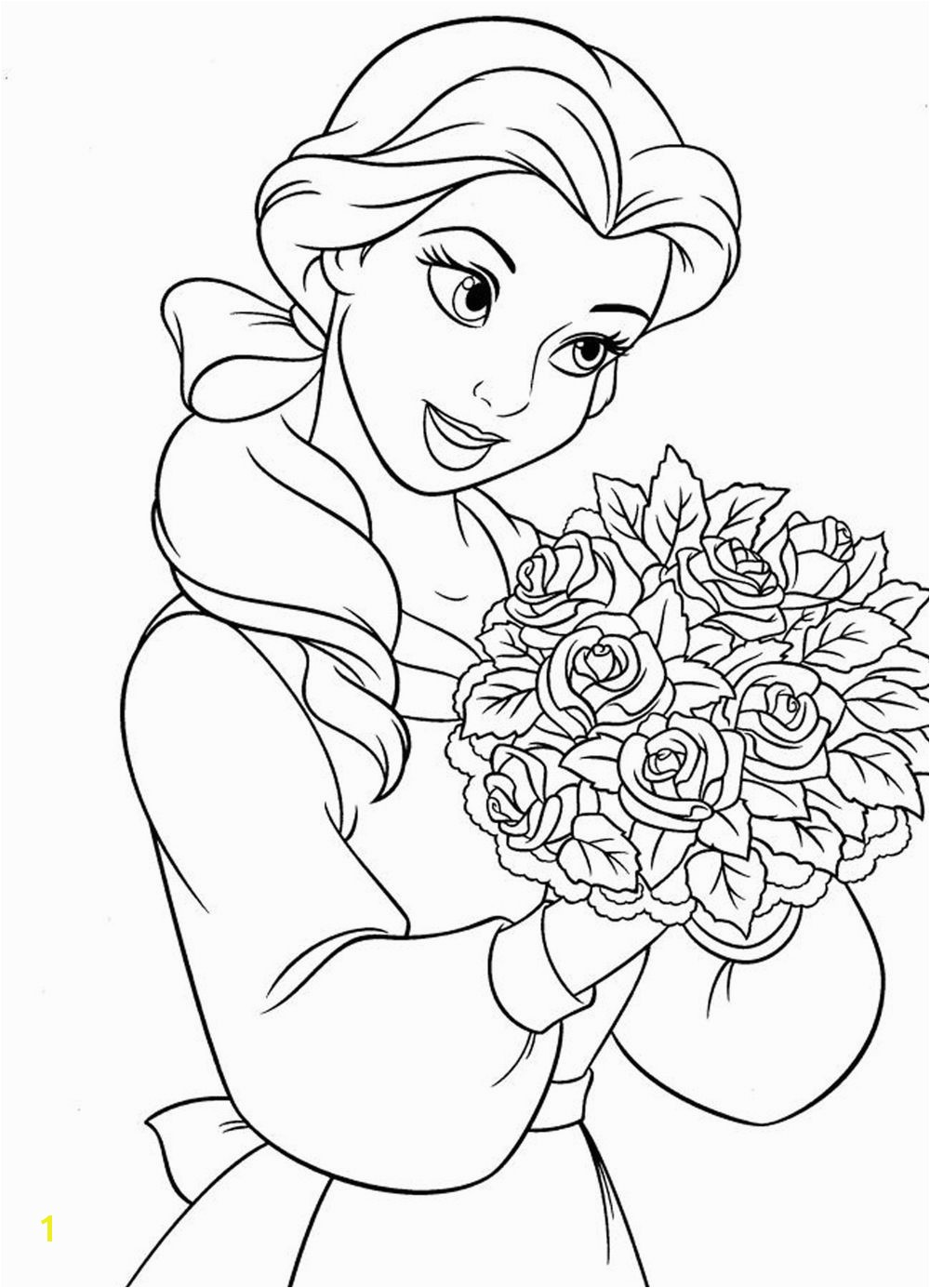 princess coloring pages for girls Free