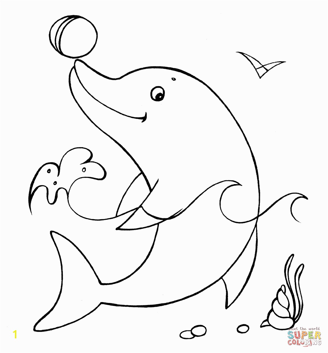 Dolphin With The Ball