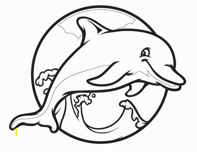 Printable Dolphin