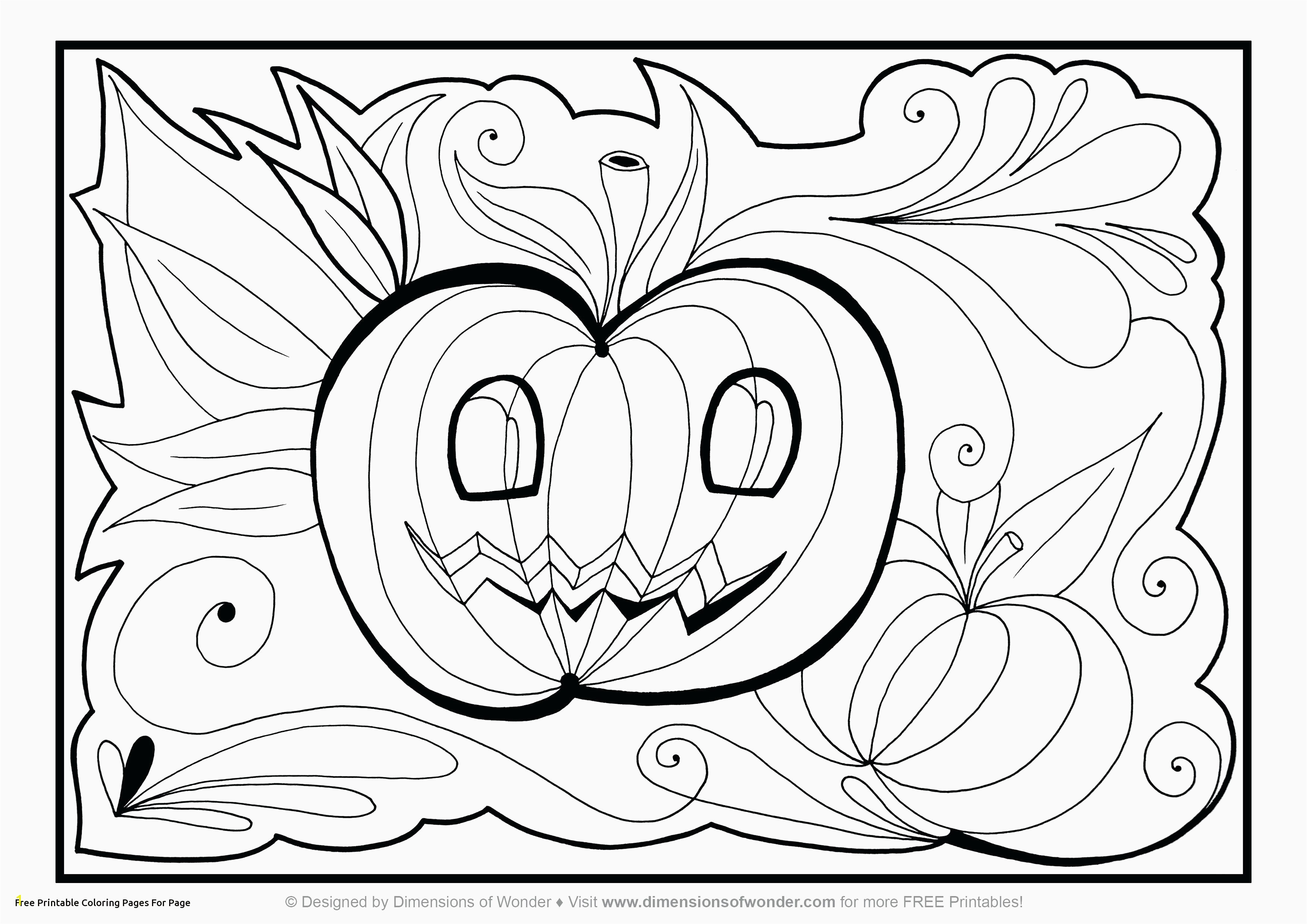 Free Printable Halloween Coloring Pages Printable Home Coloring Pages Best Color Sheet 0d – Modokom – Fun