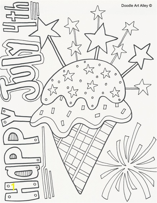 Fourth July Coloring Pages Best Coloring Pages For July