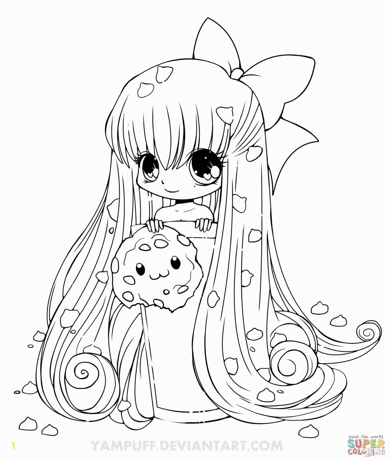 Girls Coloring Pages New Cookie Girl Coloring Pages Yampuff Coloring Pages
