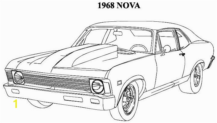 Coloring Pages Muscle Cars Classic Muscle Car Coloring Pages Don T Mess with Auto Brokers or