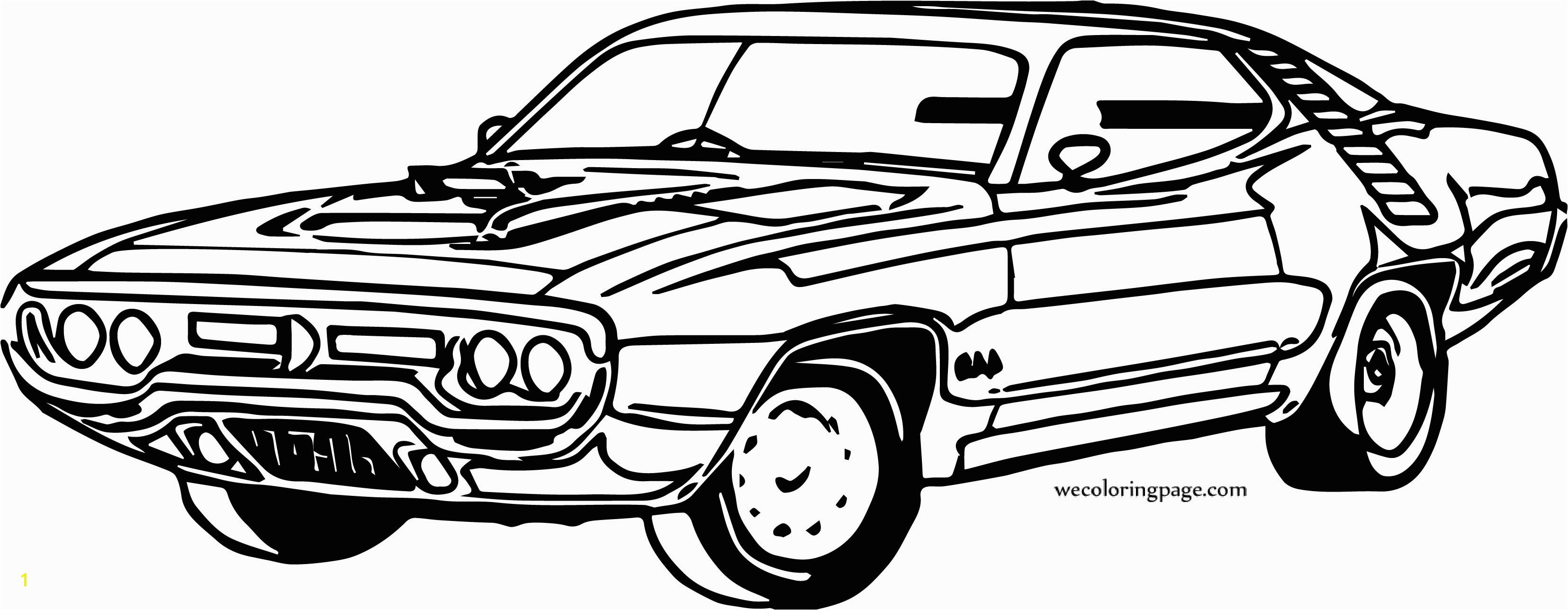 Muscle Car Coloring Pages Inspirationa Cartoon Muscle Cars Coloring Pages Worksheet & Coloring Pages