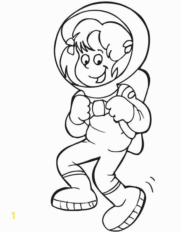 astronaut printables Astronaut Coloring Page