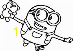 bob minions movie 2015 coloring page