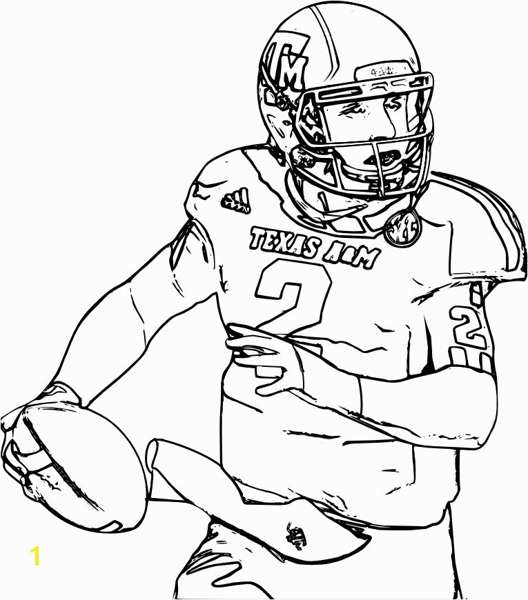 Football Player Coloring Pages Best College Football Coloring Pages Chiba Syakenfo