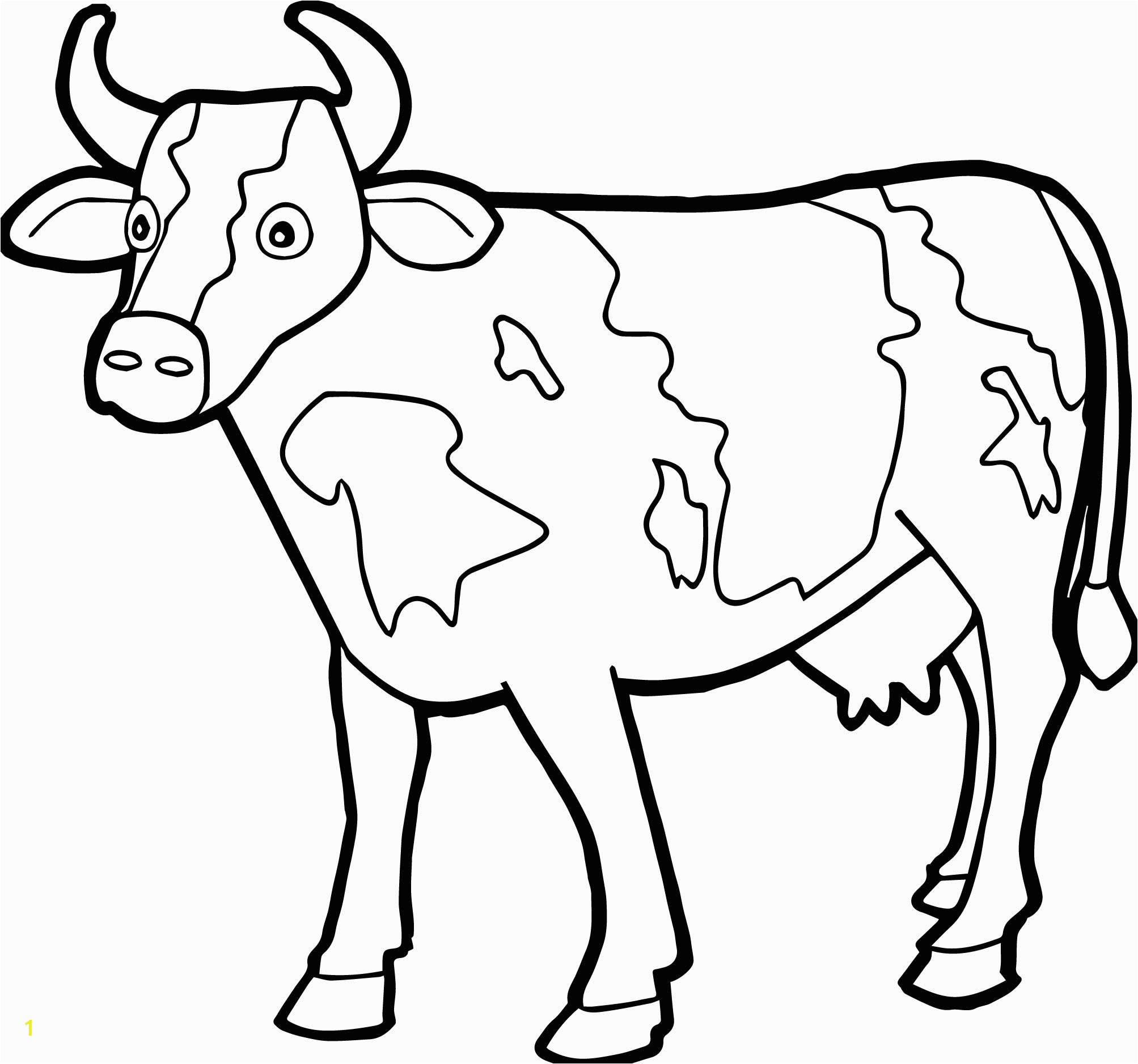 Printable Cow Coloring Pages 1600—1145
