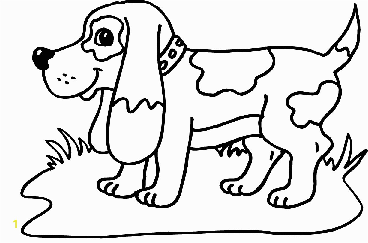Cute Puppy Coloring Pages for Girls Printable Od Dog Coloring Pages Free Colouring Pages