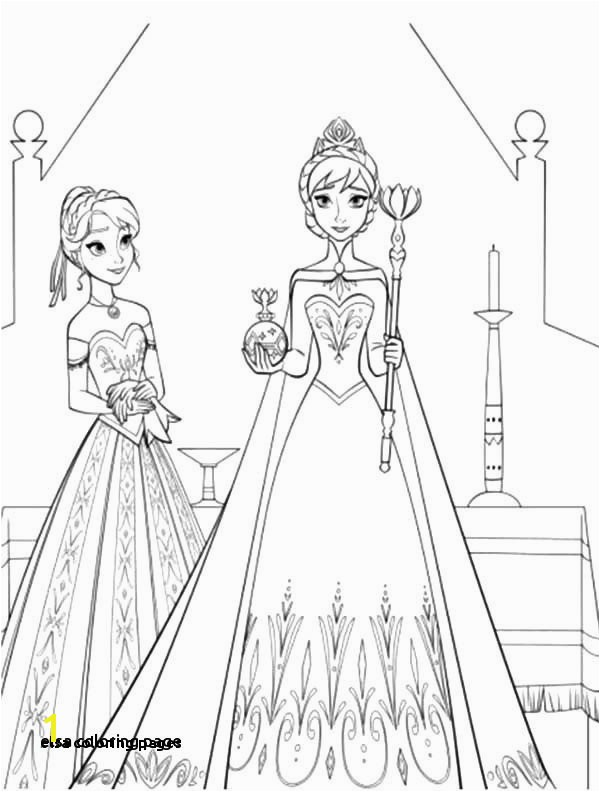 28 Elsa Coloring Pages