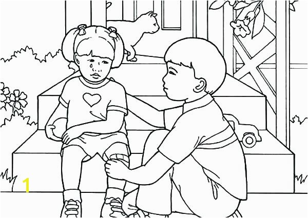 serving others coloring pages of helping sheets about each other pa