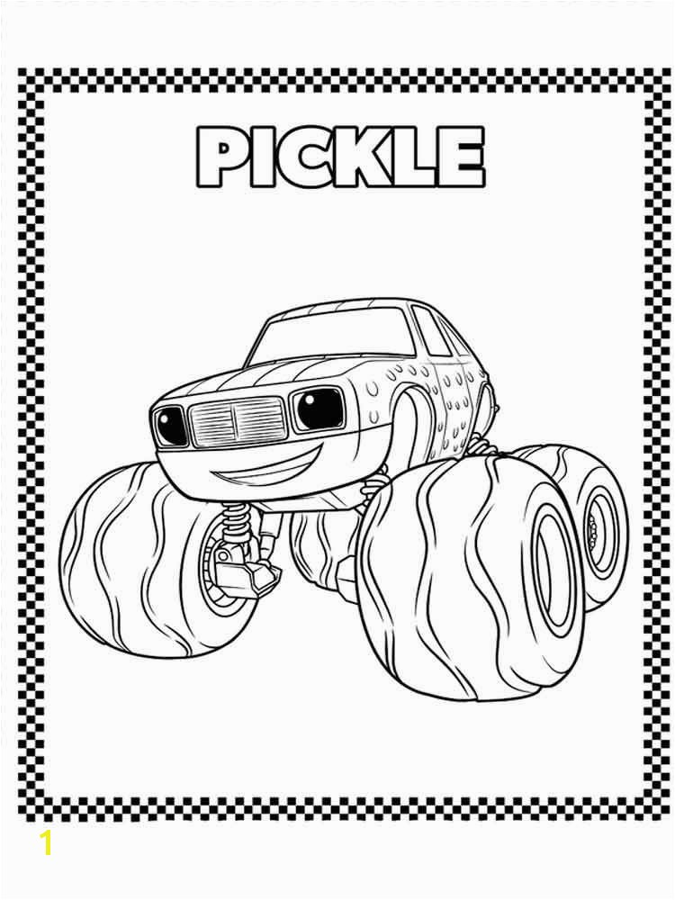 Coloring Pages Of Pickles Coloring Pages Power Puff Girls Printable Inspirational Blaze and
