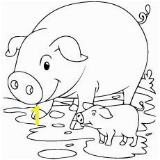 Top 20 Free Printable Pig Coloring Pages line