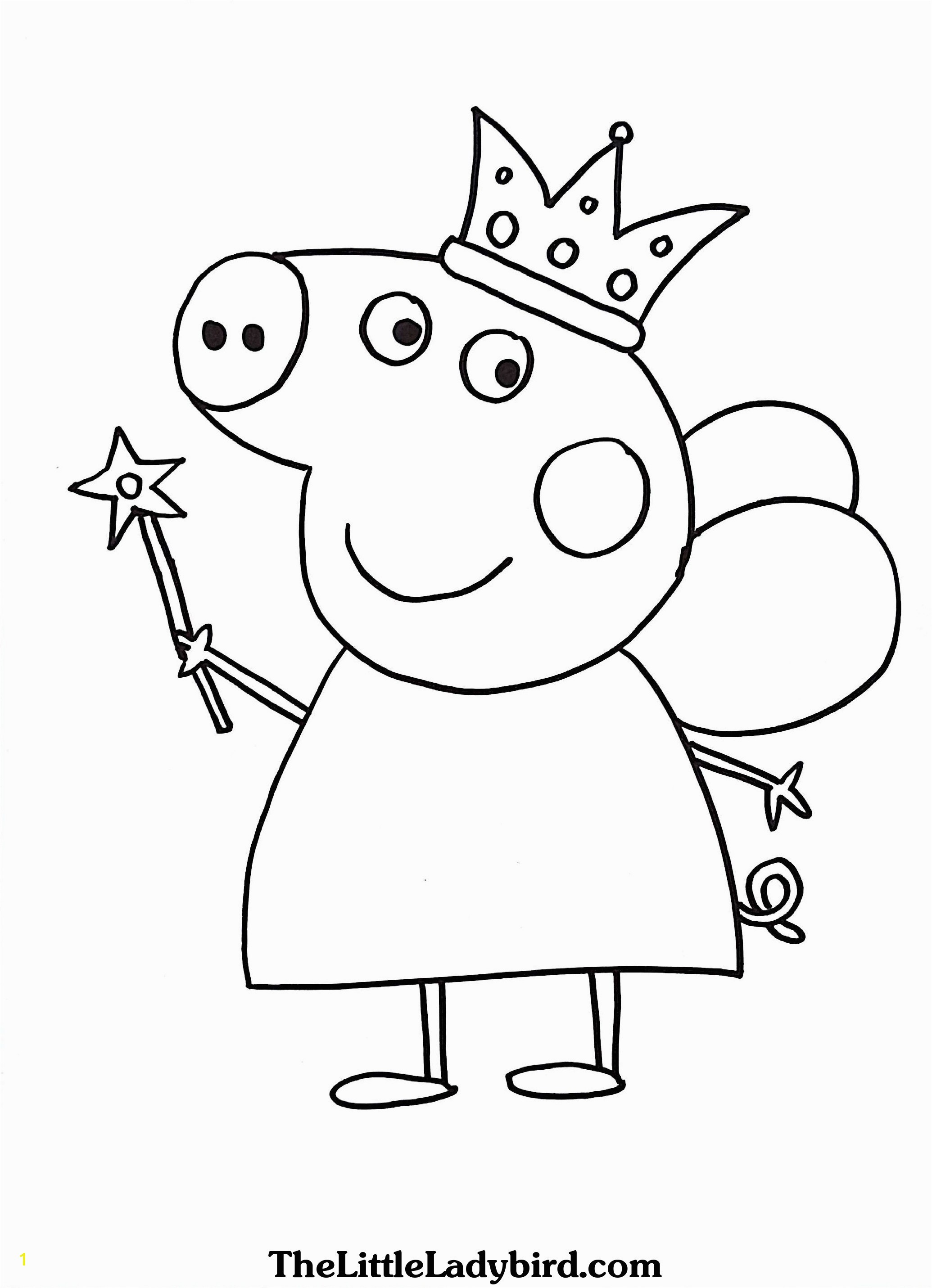 Peppa Pig Coloring Pages Peppa Pig Coloring Pages Line Heathermarxgallery
