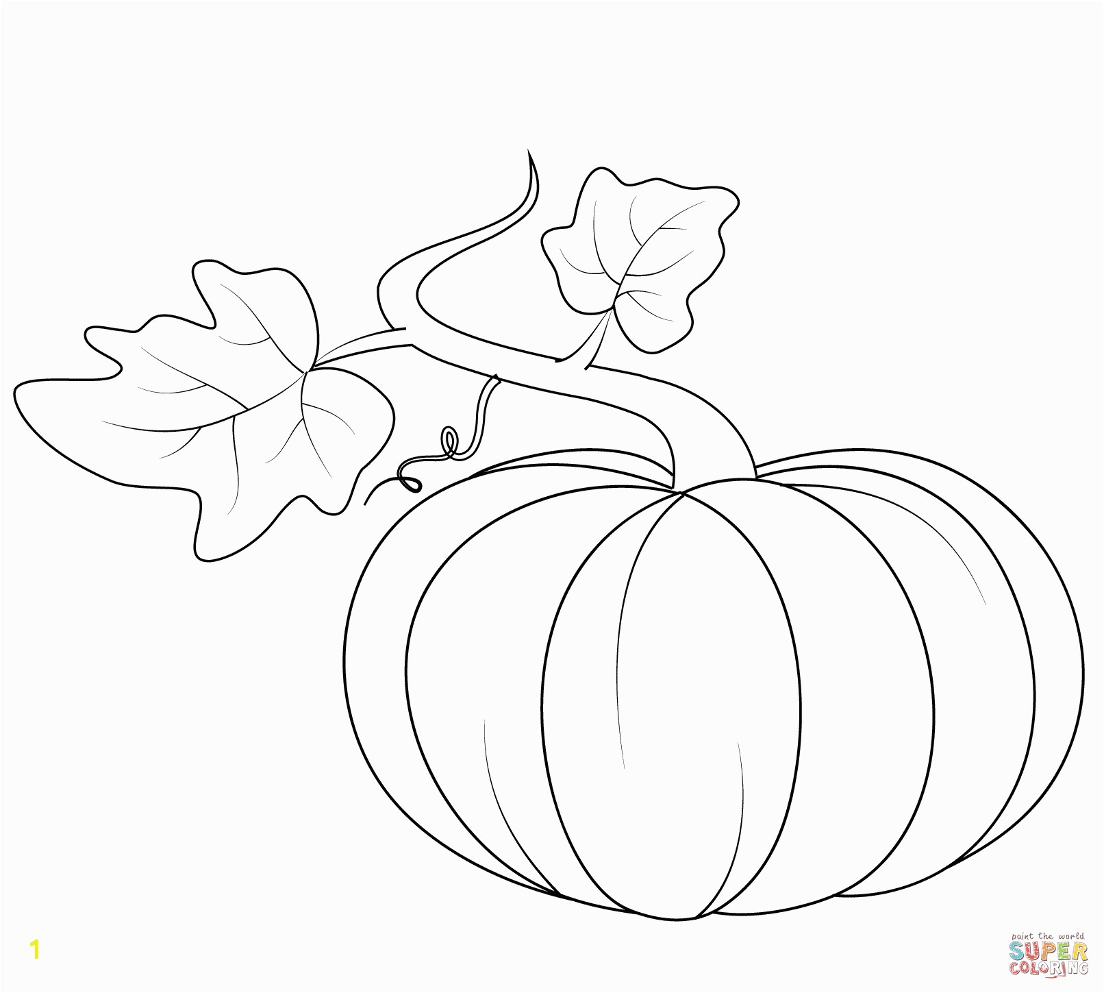 Coloring Pages Of Pumpkins Pumpkins Coloring Pages