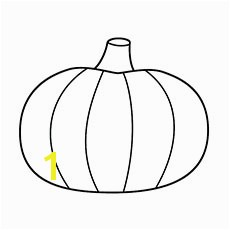 Simple Pumpkin Coloring Pages