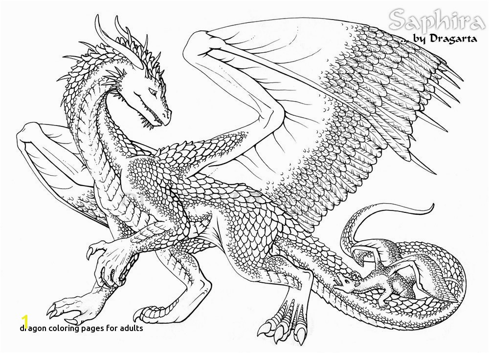 Realistic Dragon Coloring Pages For Adults 20 Awesome Chinese Dragon Coloring Pages