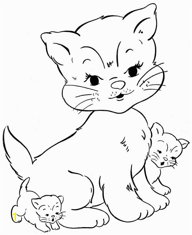 Coloring Pages Real Kittens Unique Kittens Drawing at Getdrawings Coloring Pages Real Kittens