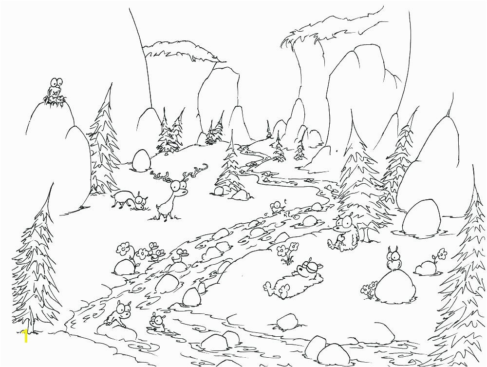 coloring page of a river river coloring pages coloring pages rivers page bears in by a coloring page of a river