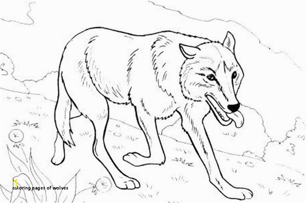 Coloring Pages Wolves Coloring Pages Wolf Lovely 10 Wolf Coloring Page