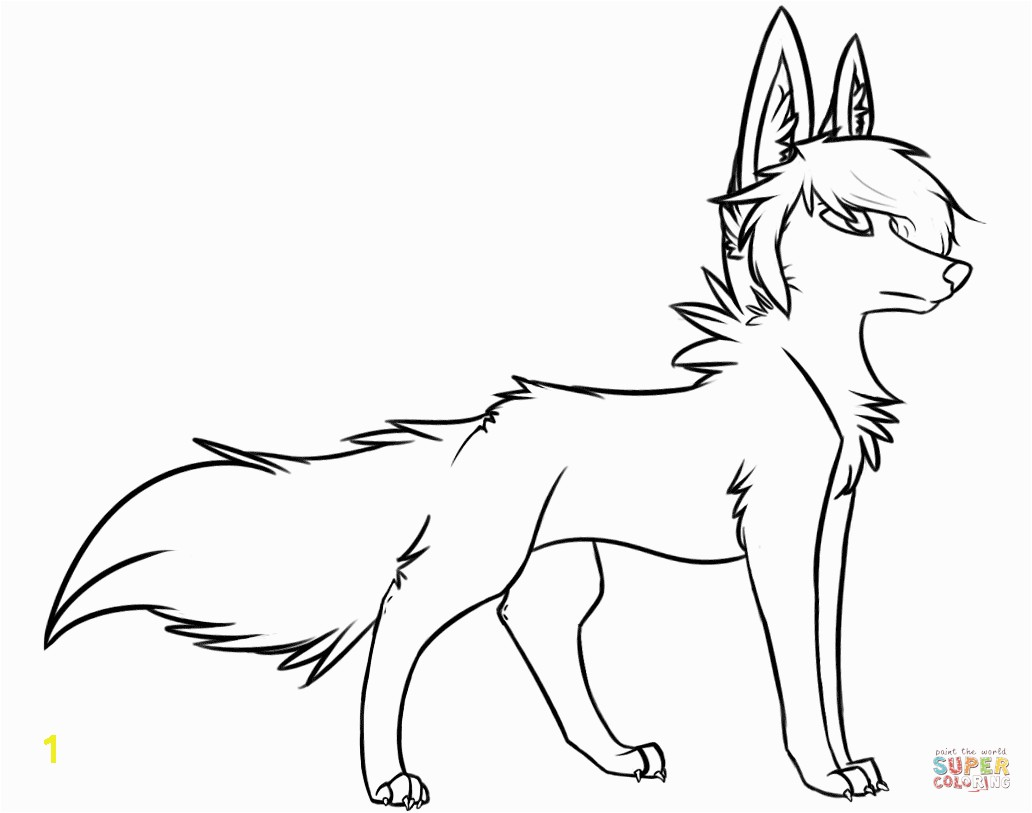 Coloring Pages Of Wolves Wolf Coloring Pages