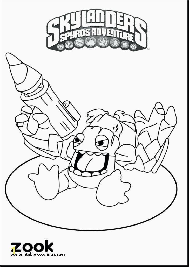 21 Boy Printable Coloring Pages