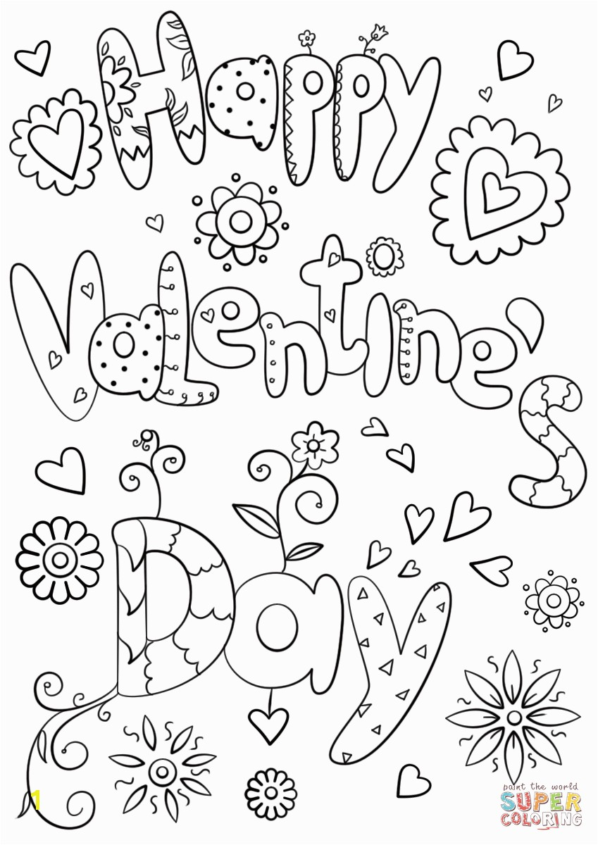 the Happy Valentine s Day coloring pages to view printable version or color it online patible with iPad and Android tablets