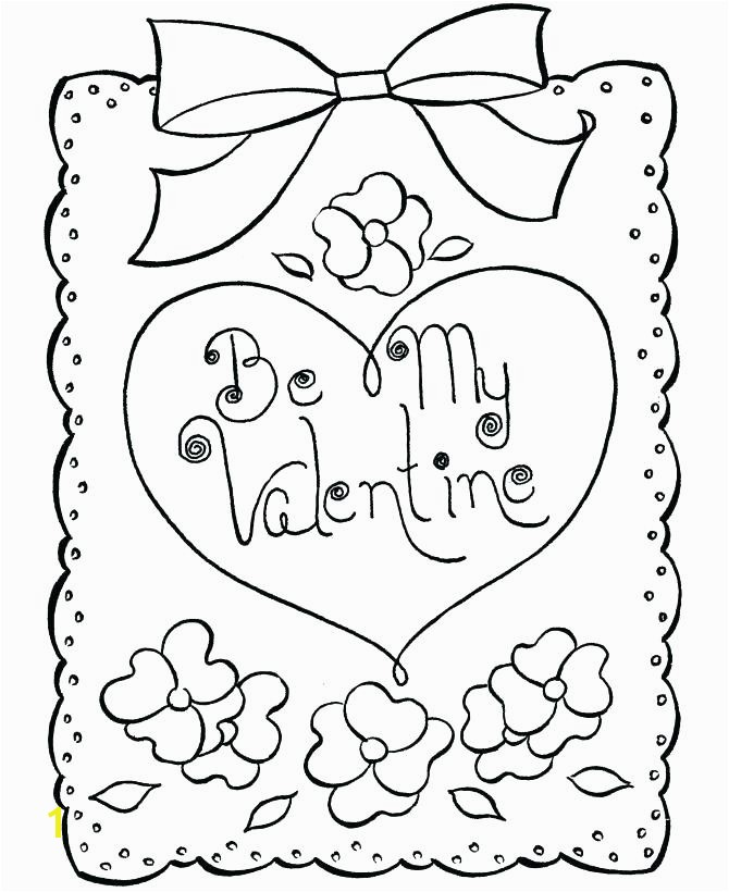 Valentine Day Printable Coloring Pages Be My Valentines Cards Coloring Pages Cartoon Valentine Day Card Sheet Free Printable Valentines Day Card Coloring
