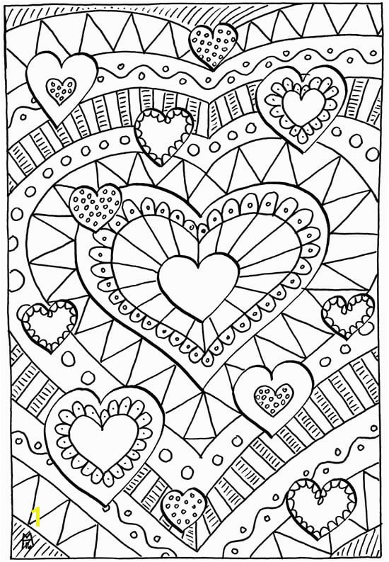 20 Fun & Free Valentines Coloring Pages
