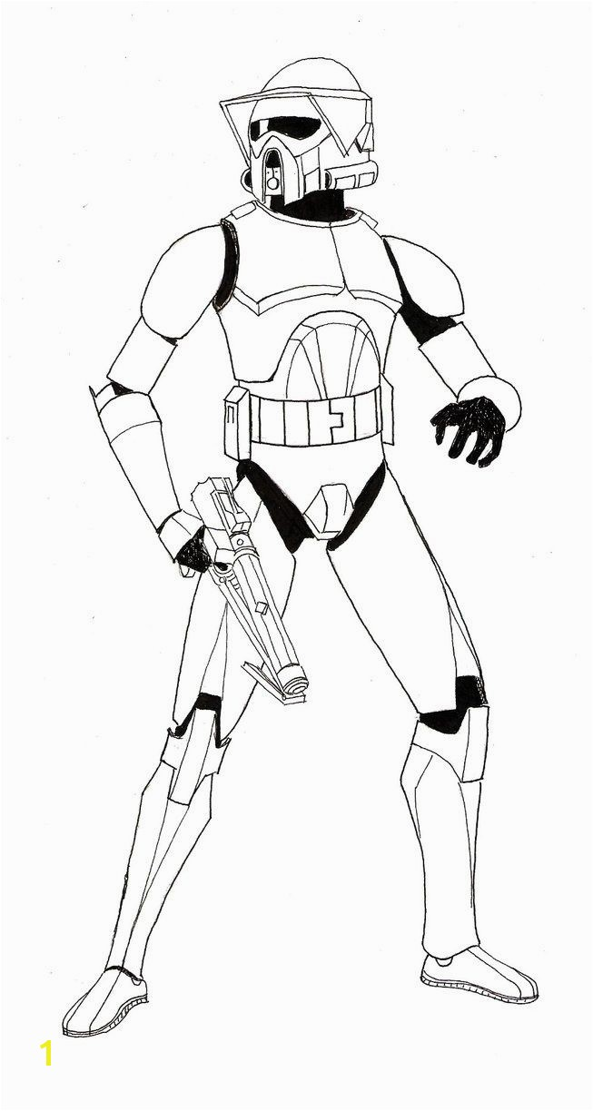 Bonanza mander Cody Coloring Page Awesome Clone Trooper Pages Best