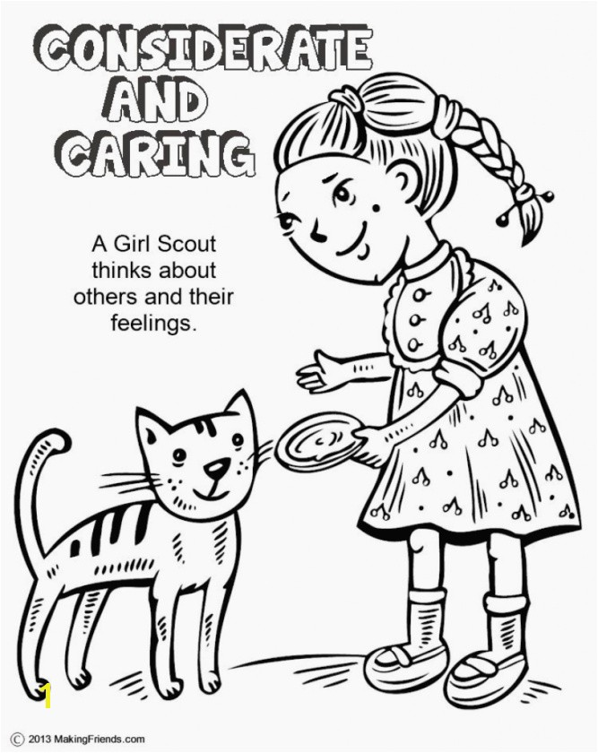 innovative girl scout law coloring pages printable in good girl