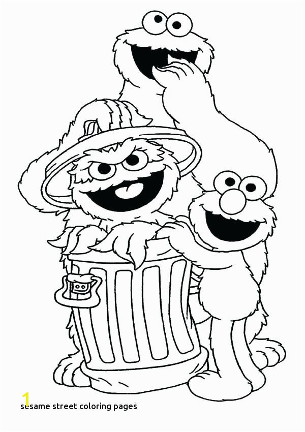Sesame Street Coloring Pages Book For Adults Amazon Full size