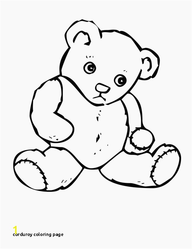 Corduroy Coloring Page Elegant Colorful Christmas Bear Coloring Pages Frieze Ways to Use