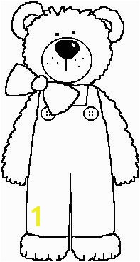 bear coloring page coloriage