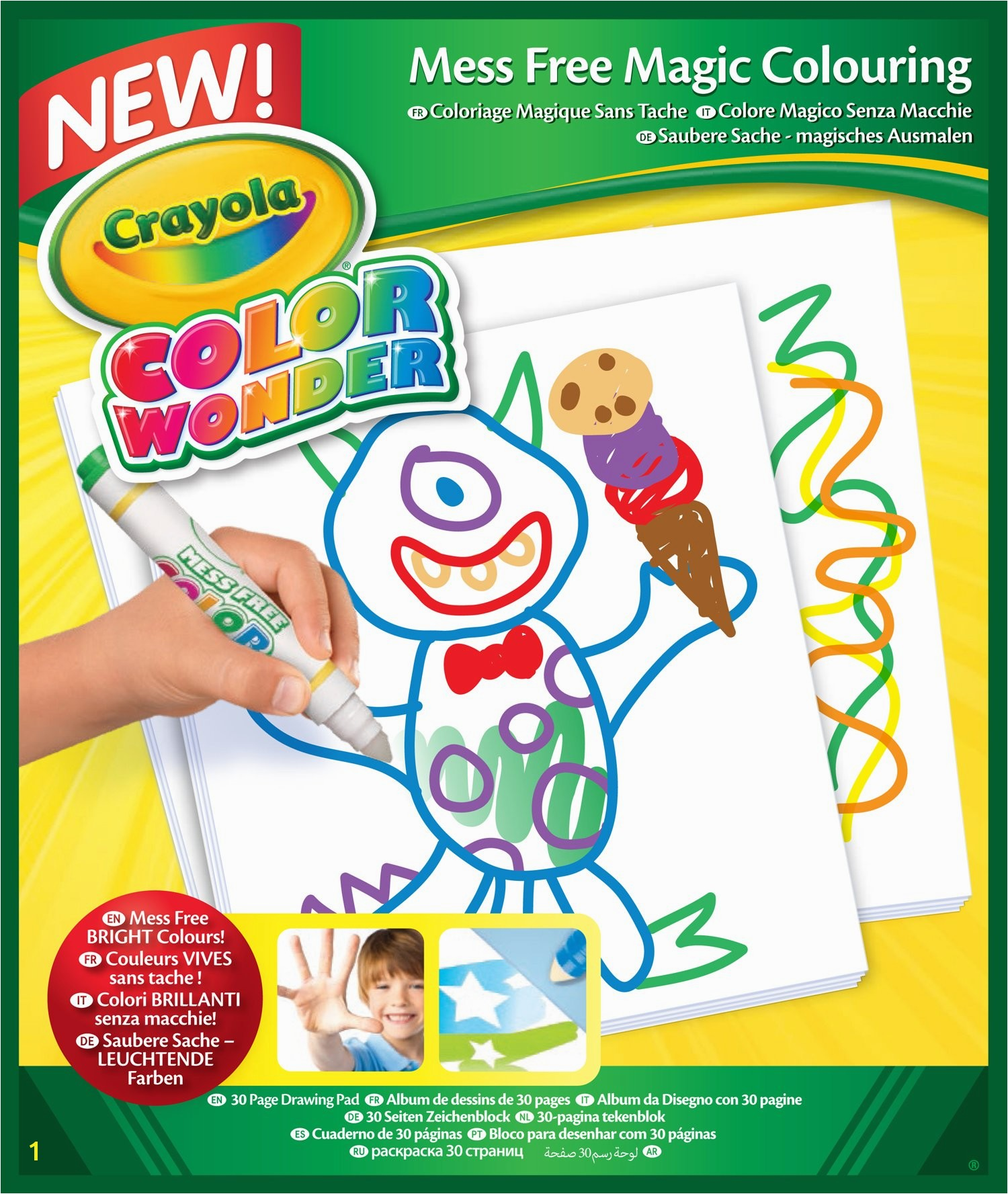 Crayola Color Wonder 30 page Refill Paper