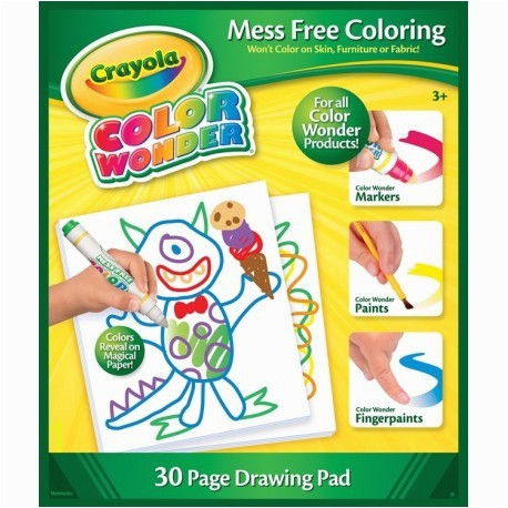Crayola Color Wonder 30 Page Refill Paper Crayola Color Wonder Paint Refill Best Crayola Graph