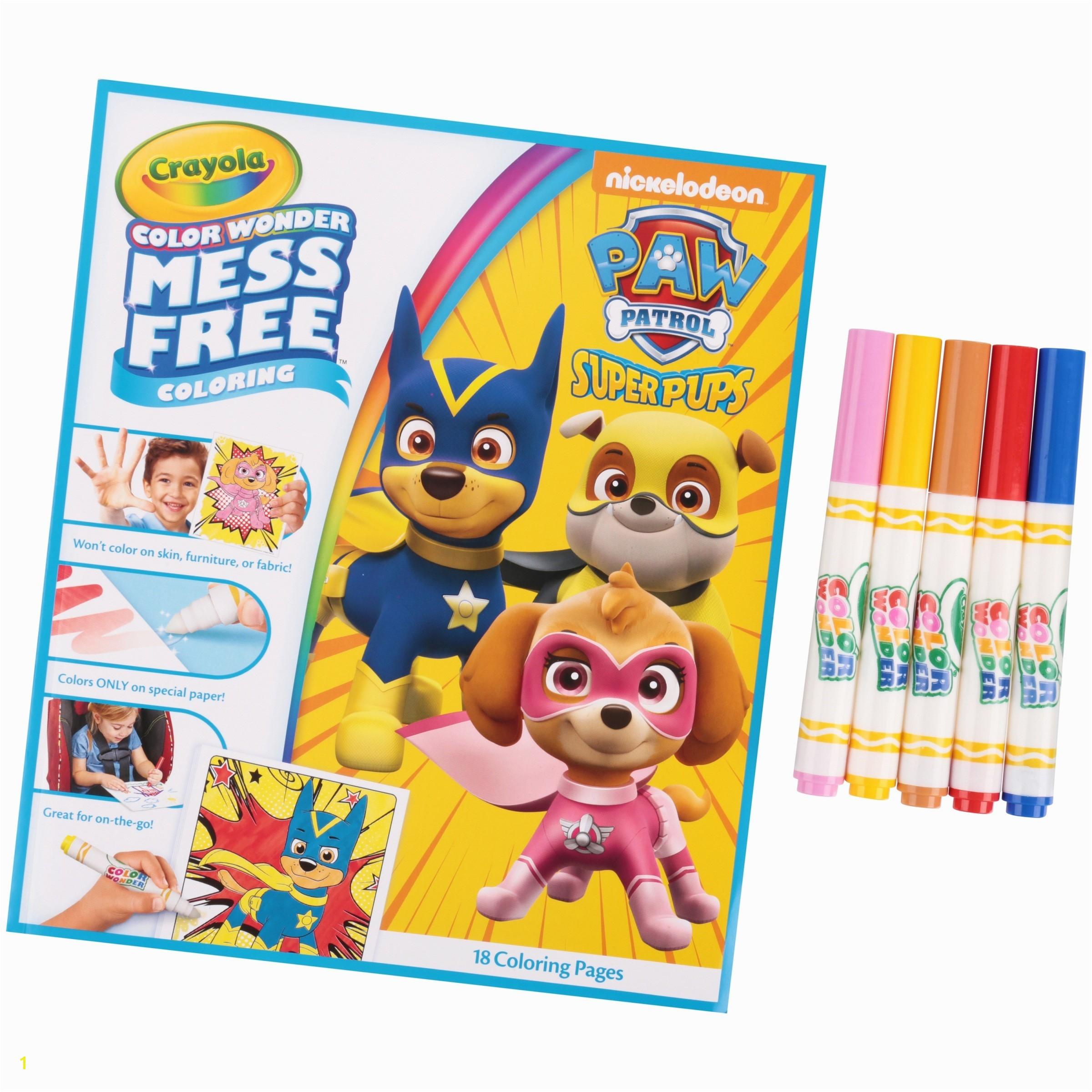 Crayola Color Wonder Paint Refill Unique Crayola Color Wonder 30 Page Refill Paper with Color Wonder