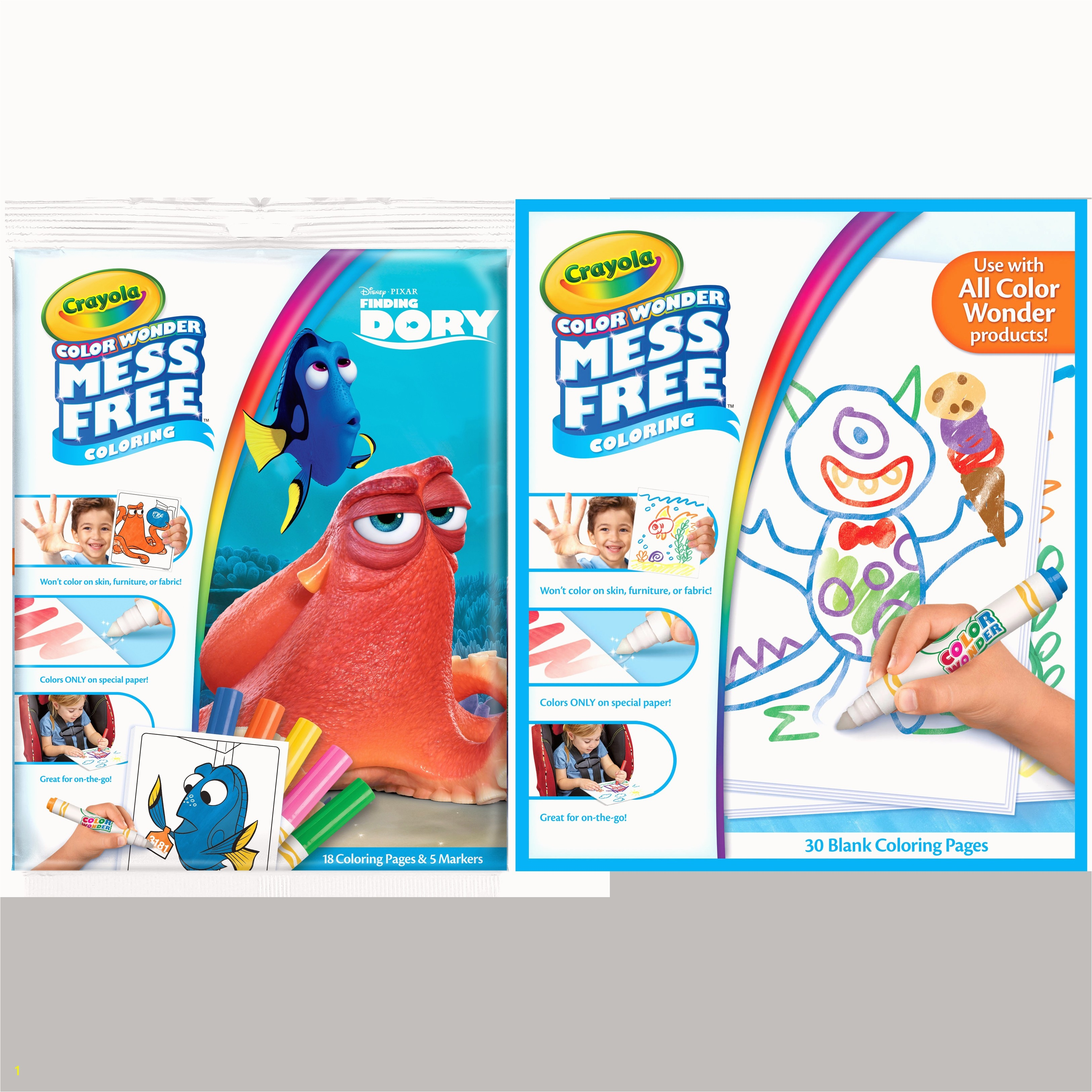 Crayola Free Coloring Pages Animals Perfect Unconditional Crayola Color Wonder 30 Page Refill Paper Nonconfig